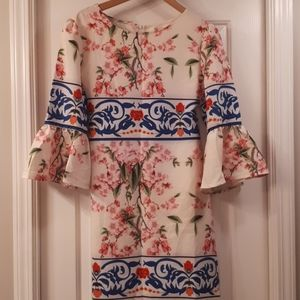 Very unique floral Aryeh dress